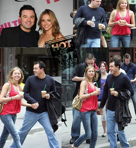 Seth MacFarlane Kate Todd and Seth Macfarlane Photograph