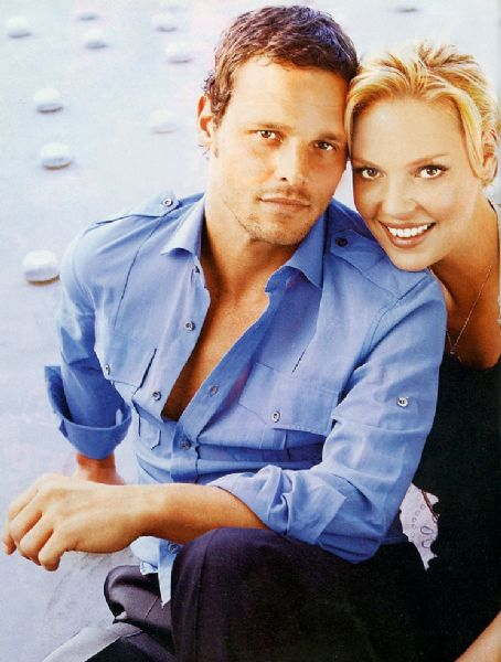 Grey's Anatomy Katherine Heigl and Justin Chambers