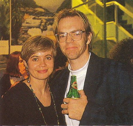 Hugo Weaving and Katrina Greenwood
