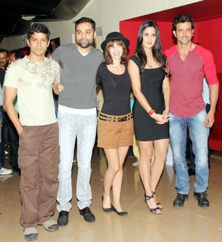 Farhan Akhtar Zindagi Na Milegi Dobara Movie Screening at PVR Cinemas