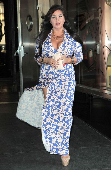 Mercedes Javid MJ Leaving Her Hotel In NY April 4.2012