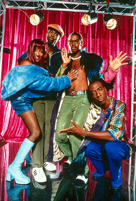 Wanda Sykes, Chris Rock, Lance Crouther and J.B. Smoove in Paramount's Pootie Tang - 2001