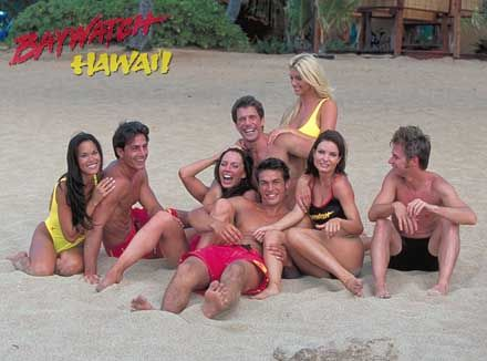 Alicia Rickter Baywatch Hawaii Poster