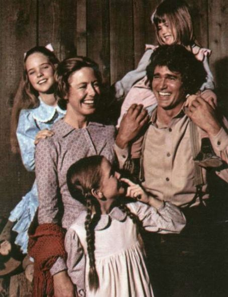 Michael Landon - The Ingalls Family