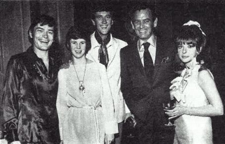 Pete Duel and Kim Darby The cast of
