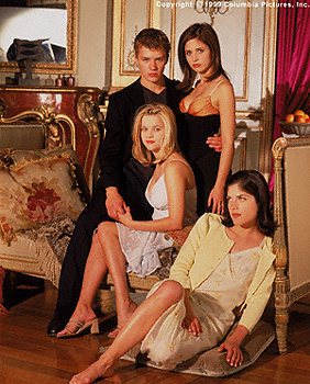 Cruel Intentions Reese Witherspoon, Sarah Michelle Gellar, Selma Blair and Ryan Phillippe in Columbia's  - 1999