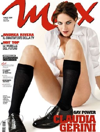 Claudia Gerini - Max Magazine Cover [Italy] (March 2009)