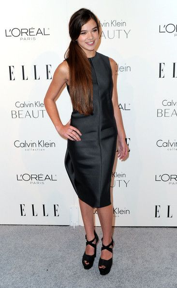 Hailee Steinfeld  at ELLE's 17th Annual Women in Hollywood Tribute. The Four Seasons Hotel on October 18, 2010 in Beverly Hills.