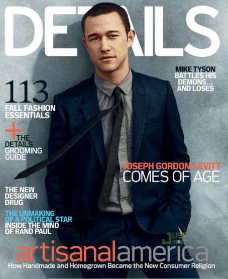 Joseph Gordon-Levitt - Details Magazine [United States] (August 2010)