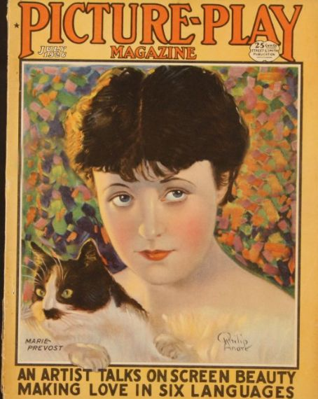 Marie Prevost - Picture Play Magazine [United States] (July 1926)