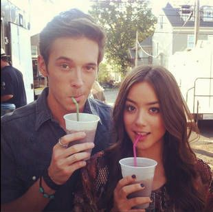 Chloe Bennet Sam Palladio and