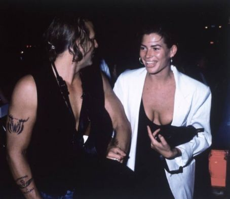 Carré Otis Carre Otis and Mickey Rourke