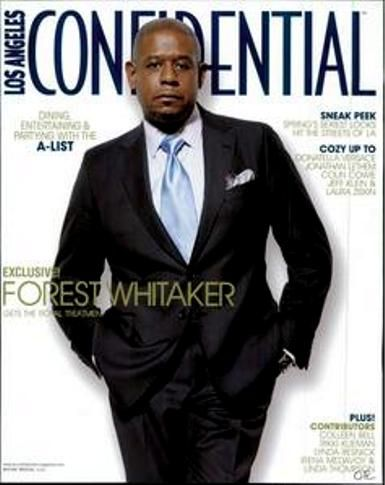 Forest Whitaker - Los Angeles Confidential Magazine Cover [United States] (February 2007)