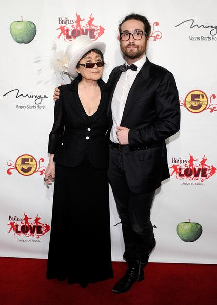 Yoko Ono - The Beatles LOVE By Cirque du Soleil Celebrates Its 5th Anniversary At The Mirage In Las Vegas