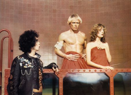 The Rocky Horror Picture Show Tim Curry, Susan Sarandon and Peter Hinwood in The Rocky Horror Picture (1975)
