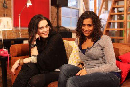 Katie McGrath Angel Coulby and