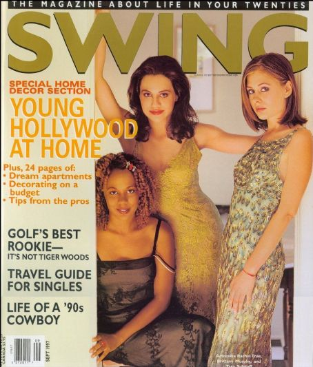 Brittany Murphy, Rachel True, Tara Subkoff - SWING Magazine Cover [Canada] (September 1997)