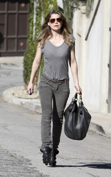"Ellen Pompeo: Gearing Up for ""Grey's Anatomy"" Season 8"
