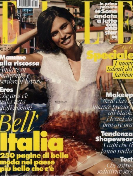 Elle Magazine Cover [Italy] (October 2011)
