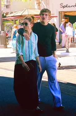 Crystal Reed Daniel Sharman and : out and about in Los Angeles