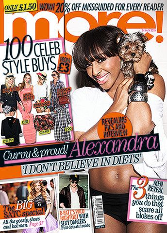 Alexandra Burke - More! Magazine Cover [United Kingdom] (24 May 2010)
