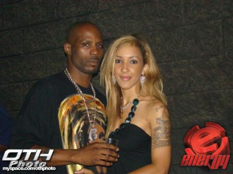 DMX  and his fiance
