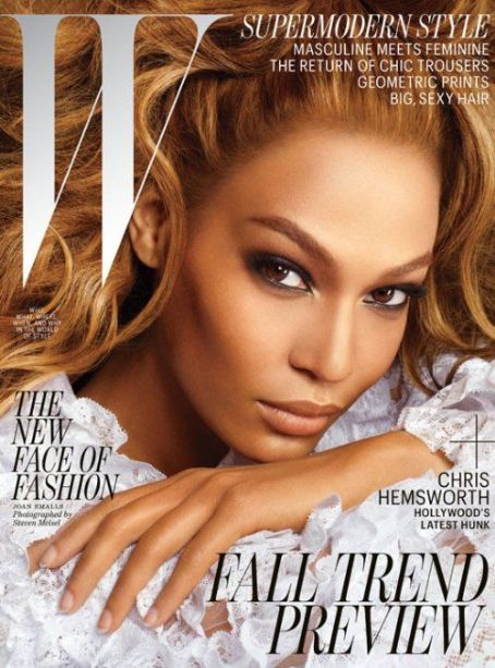 Joan Smalls W Magazine Covers