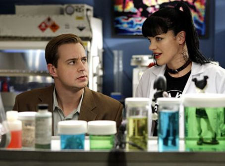 Sean Murray  and Pauley Perrette