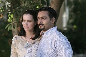 "Ione Skye and Anjul Nigam in ""Back When We Were Grownups"""