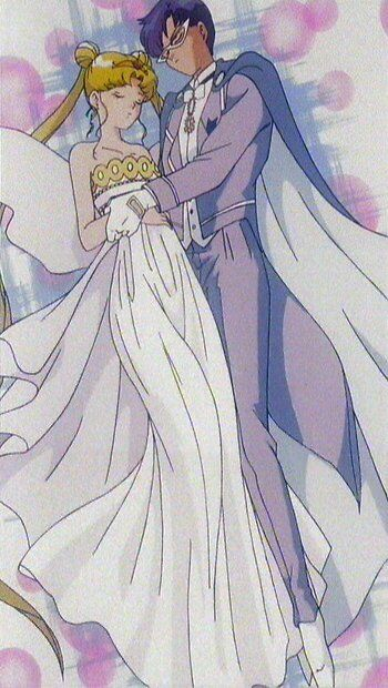 Sailor Moon - Neo Queen Serenity & King Endymion