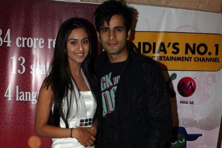 Karan Tacker and Krystal D'Souza Karan Tacker and Krystle D'Souza from EHMMBH