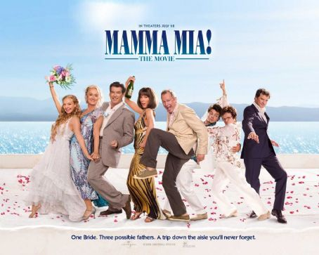 Amanda Seyfried and Dominic Cooper - Mamma Mia! Wallpaper