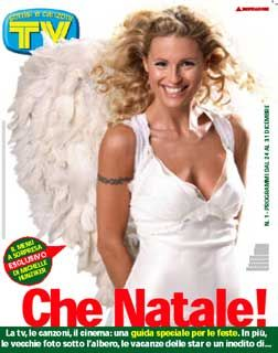 Michelle Hunziker - TV Sorrisi e Canzoni Magazine Cover [Italy] (27 December 2005)
