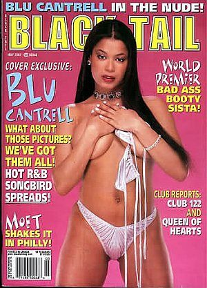 Blu Cantrell - Black Tail Magazine Cover [United States] (May 2002)