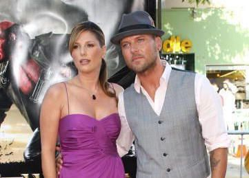 Matt Goss  and fiancee Daisy Fuentes at the