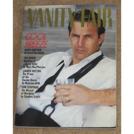 Kevin Costner - Vanity Fair Magazine [United States] (May 1989)
