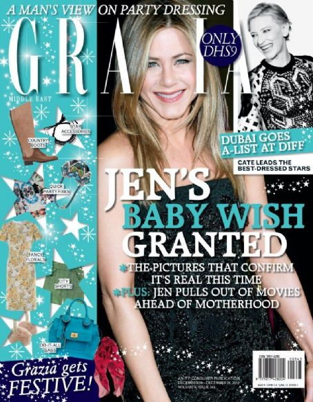 Jennifer Aniston - Grazia Magazine Cover [Iran] (19 December 2012)