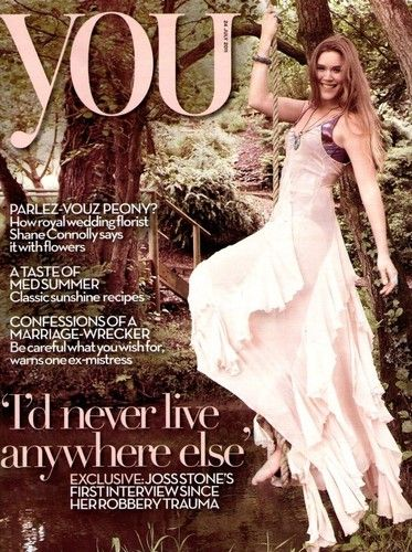 Joss Stone - You Magazine Cover [United Kingdom] (July 2011)
