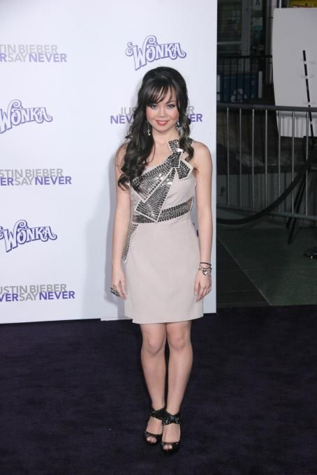 Anna Maria Perez de Tagle - 'Justin Bieber: Never Say Never' Los Angeles Premiere at Nokia Theatre L.A. Live on February 8, 2011