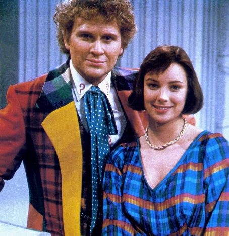 Nicola Bryant Colin Baker as The Sixth Doctor and  as Peri Brown in Doctor Who (1984)