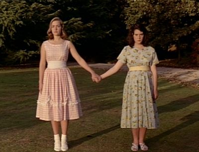 Melanie Lynskey Kate Winslet and  in Heavenly Creatures (1994)