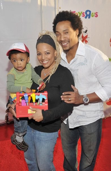 Kim Fields Kim and Family