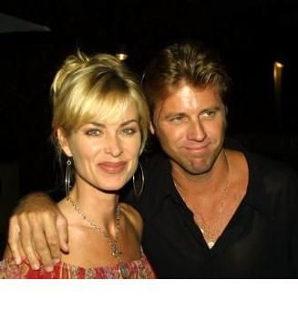 Eileen Davidson  and Vincent Van Patten