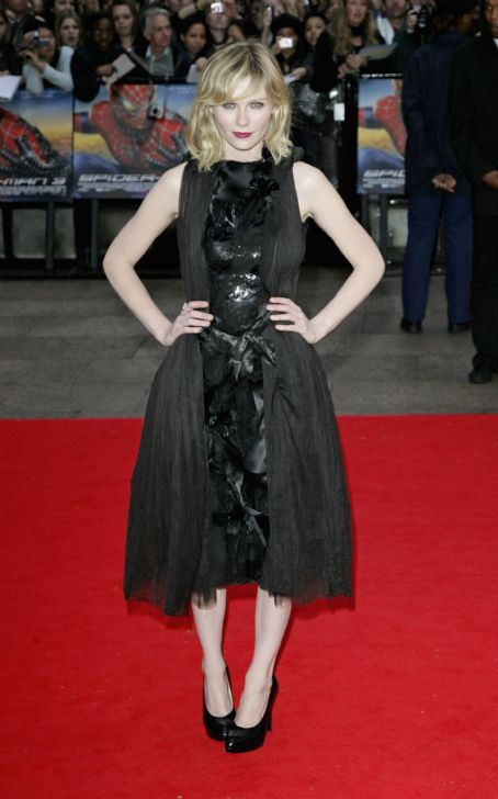 Spider-Man 3 Kirsten Dunst -  Premiere In London, UK