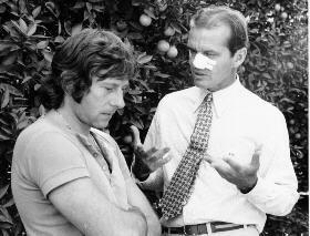 Chinatown Roman Polanski & Jack Nicholson