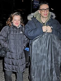 Elisabeth Moss Fred Armisen and