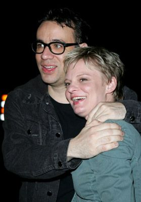 Fred Armisen  and Martha Plimpton