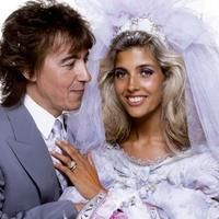 Bill Wyman and Mandy Smith on their wedding day