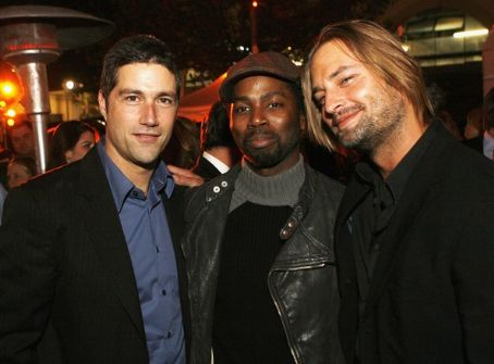 Harold Perrineau Josh Holloway