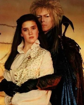 Labyrinth Jennifer Connelly and David Bowie